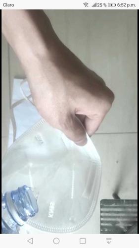 mascarrila kn95 95% bolsa individual y certificada