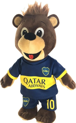 mascota con licencia oficial de boca oso jano