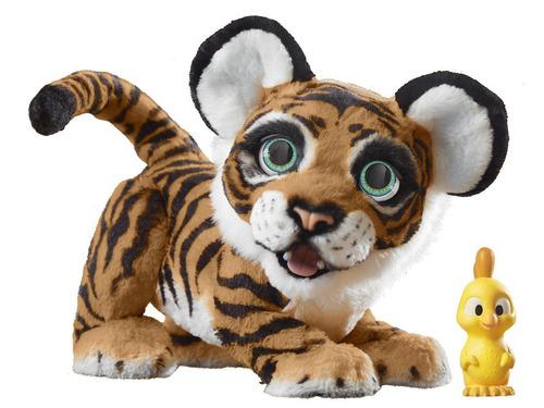 mascota electrónica fur real rayler el tigre juguetón