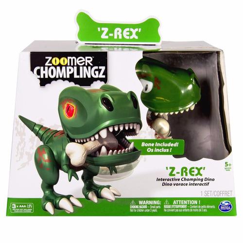 mascota electronica zoomer chomplingz z-rex interactive dino