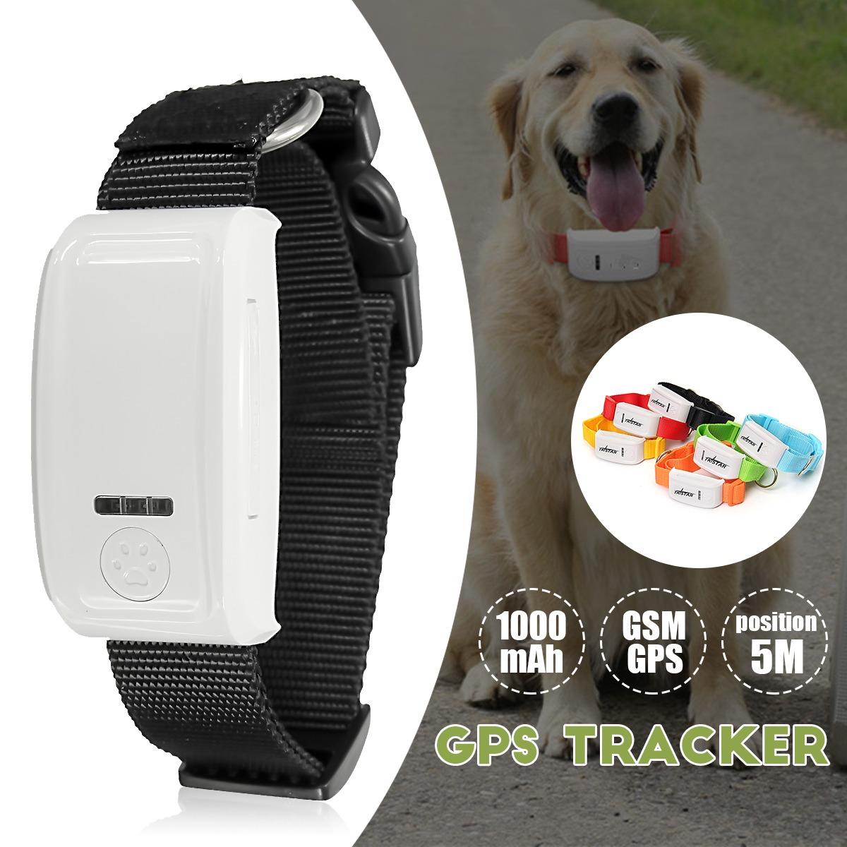 2b387a870 mascota gps / gsm rastreador collar impermeable perro gato e. Cargando zoom.