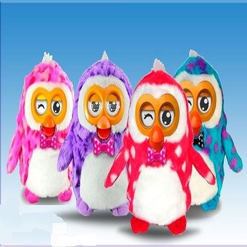 mascota interactiva hibou modelo pinguino idioma español