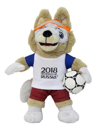 mascota peluche zabivaka fifa mundial 2018  rusia  en stock