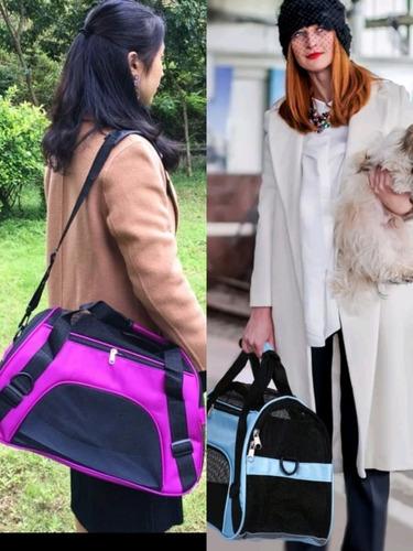 mascota perro bolsa transportadora
