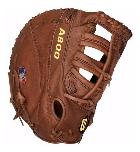 mascotin primera base beisbol softball wilson a800 12
