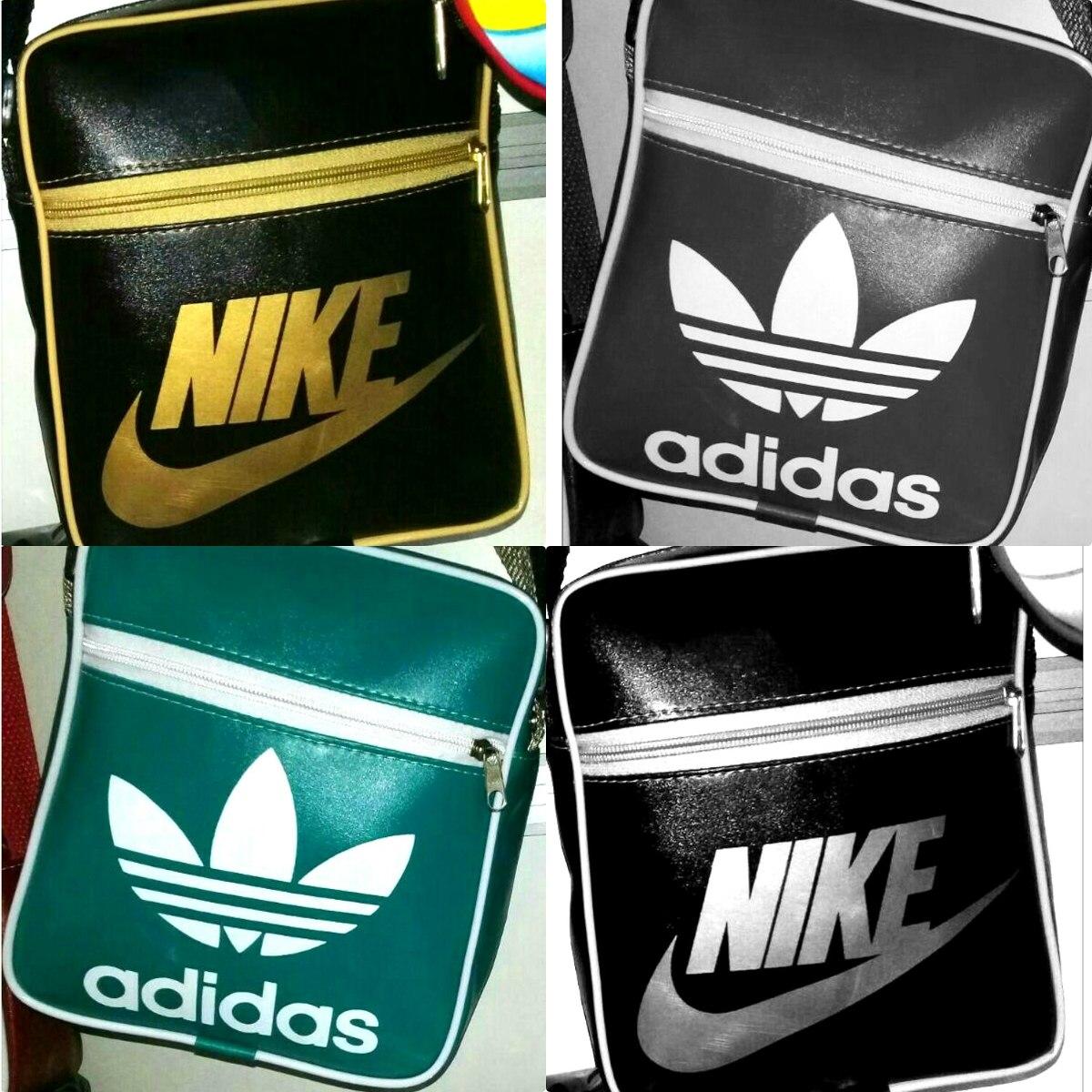 495014e97c3 Carregando zoom... bolsa masculina feminina nike ou adidas kit com 6 peças