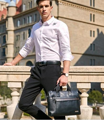 masculina couro bolsa