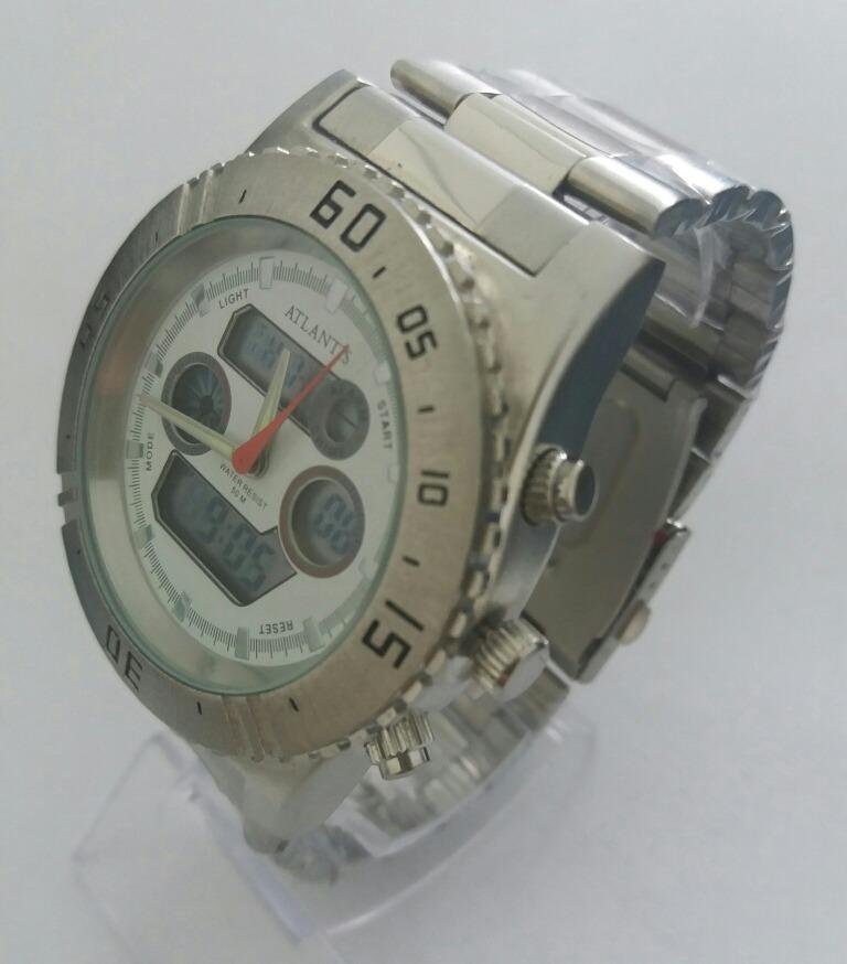 15fe5104d58 Relógio Masculino Atlantis G3211 Importado Original - R  132