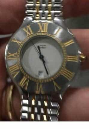 5f3f680ad6d masculino cartier relógio · relógio original masculino must ...
