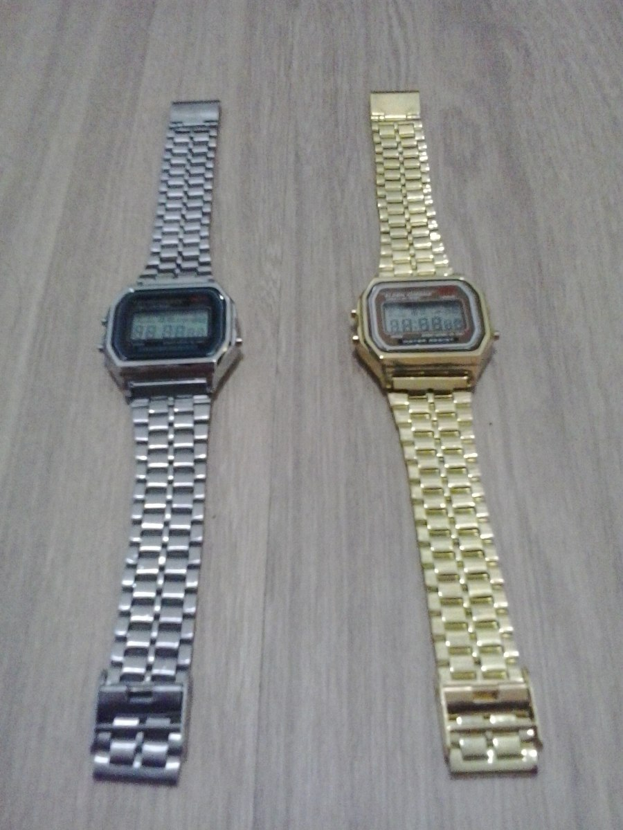 6e70ce3262b Carregando zoom... relógio masculino vintage casio retro digital novo  unidade!