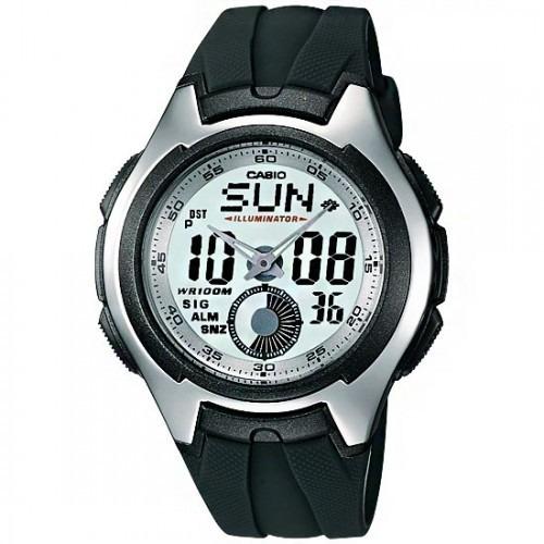 3bbea1baea2 Relógio Masculino Casio Aq-160w-7bvdf Active-dial Original - R  157 ...