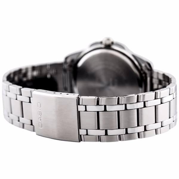 b3d97f05339 masculino casio relógio 2 relógio masculino casio analógico aço azul 100%original  wr50