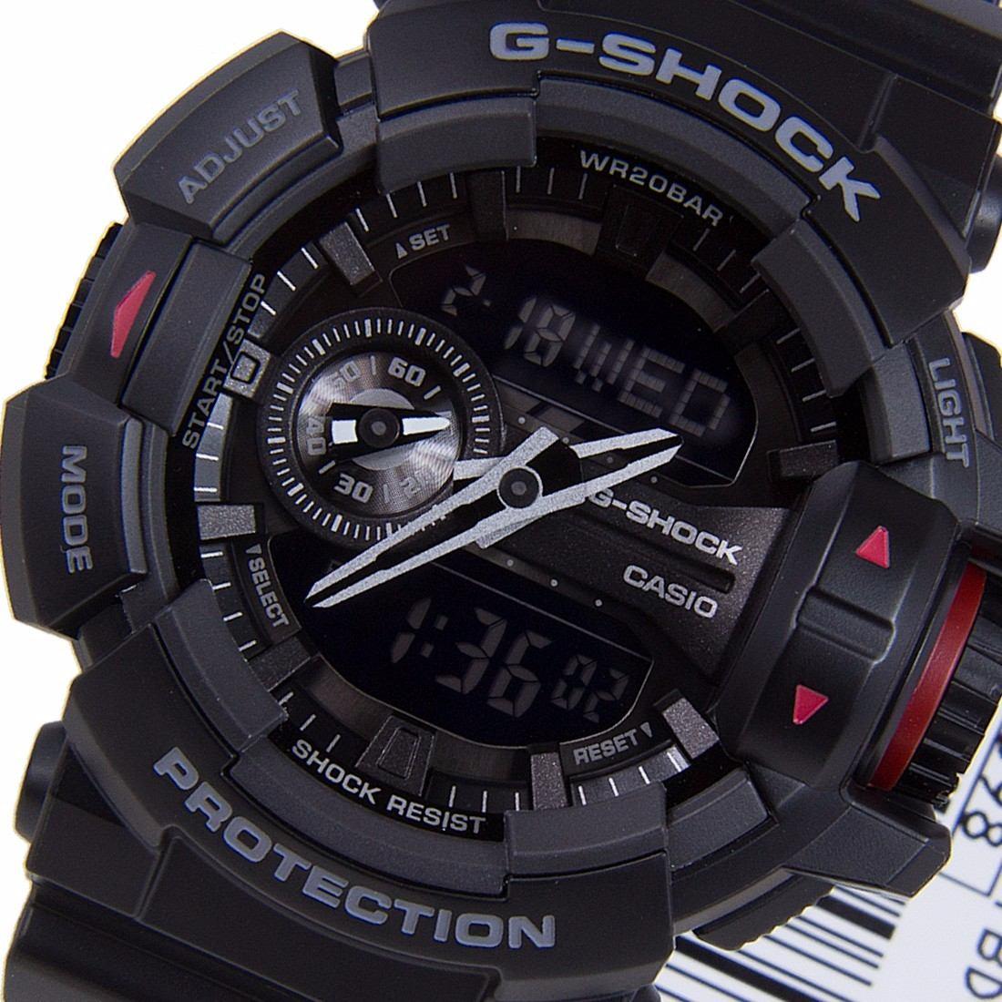 73dc3068a12 Relógio Masculino Casio G-shock Ga-400-1b Original Ga400 - R  564