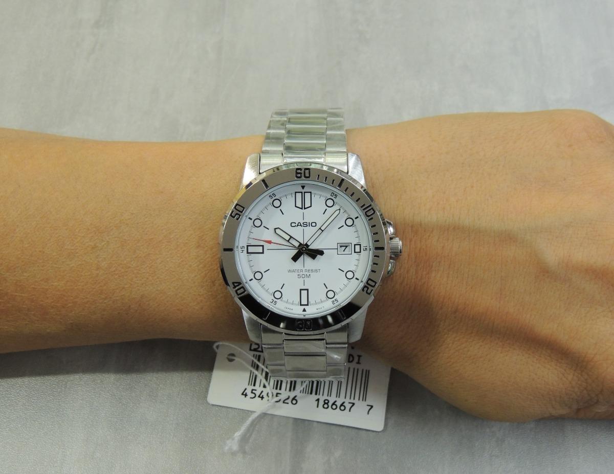 50425ab7594 Lançamento Relógio Masculino Casio Mtp-vd01d-7evudf (nf) - R  194