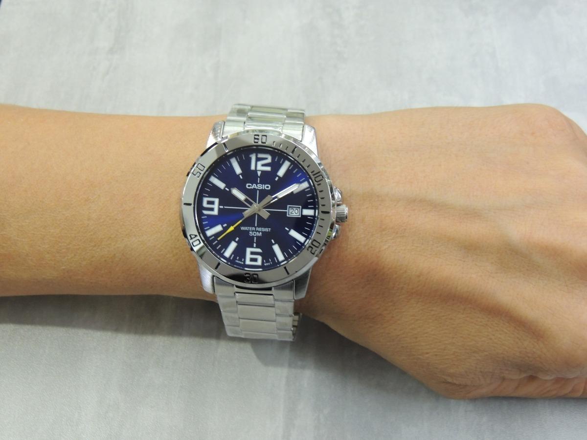 8d8c6dbbd17 Lançamento Relógio Masculino Casio Mtp-vd01d-2bvudf (nf) - R  194