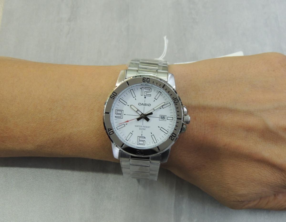 eeea4350167 Lançamento Relógio Masculino Casio Mtp-vd01d-7bvudf (nf) - R  194