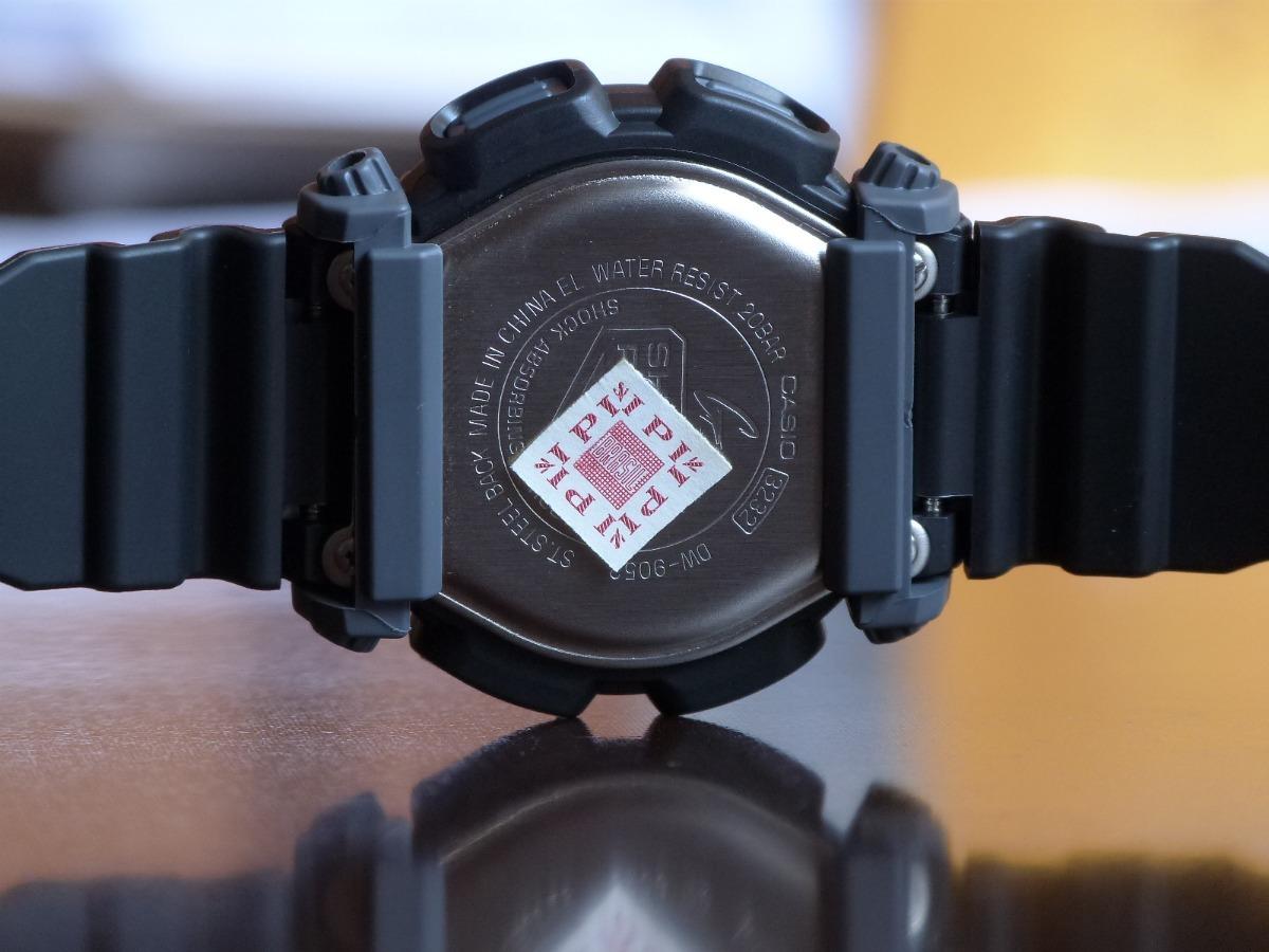 874f885124b Relógio Digital Masculino Casio G-shock Dw-9052-1vdr Preto - R  348 ...