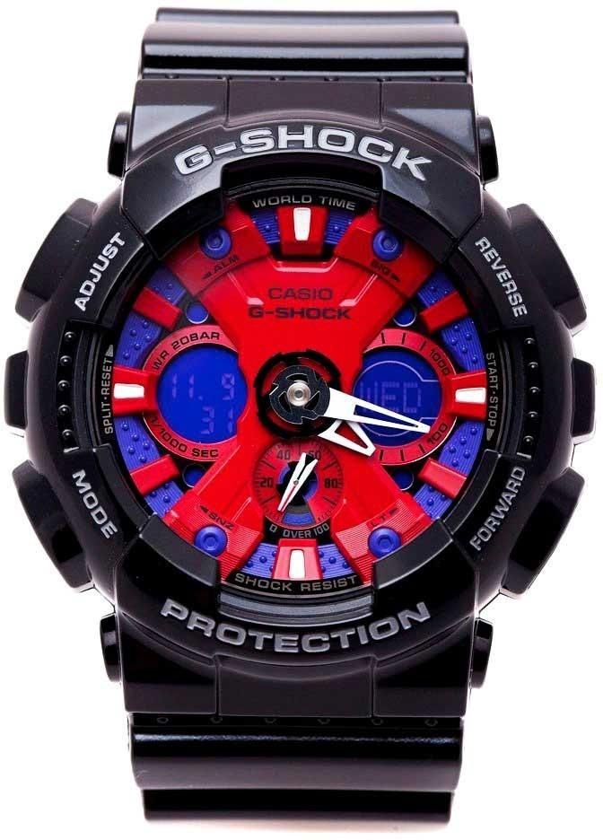 8de154017b6 Relógio Masculino Casio G-shock Ga-120b-1adr Original - R  443
