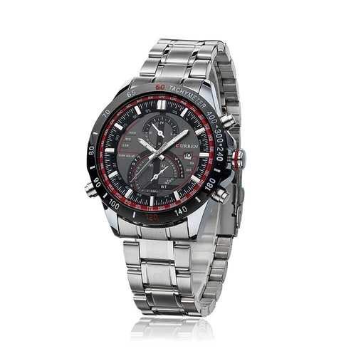 deae1fa249a masculino curren relógio. Carregando zoom... relógio importado masculino  luxo curren 8149 aço fundo preto