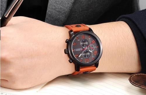 masculino curren relógio