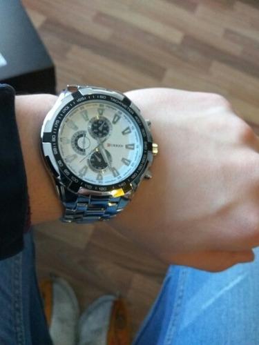 a05488dd4 relógio pulso social masculino original da marca curren luxo · relógio  pulso masculino curren · masculino curren relógio pulso