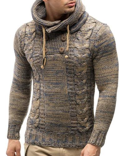 masculino encapuchado jersey suéter