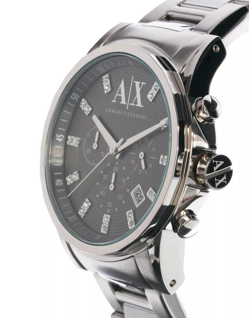 273e2c5d4c6 Relógio Armani Masculino Exchange Ax2092 pn Original