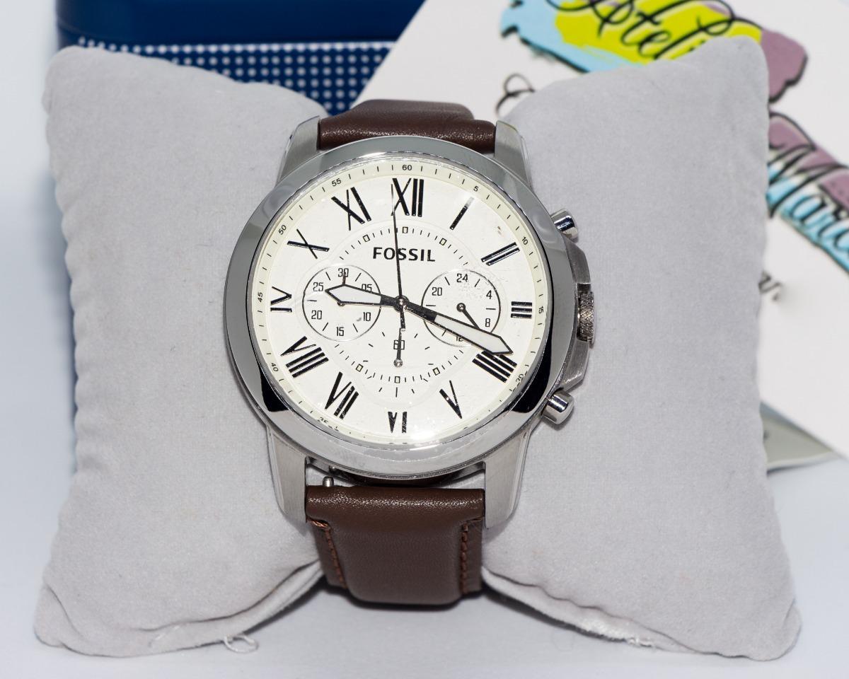 6d4e807f91f59 Relógio Masculino Fossil Couro Fs4735 Original Importado - R  699