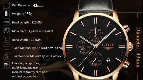 masculino marca relógio