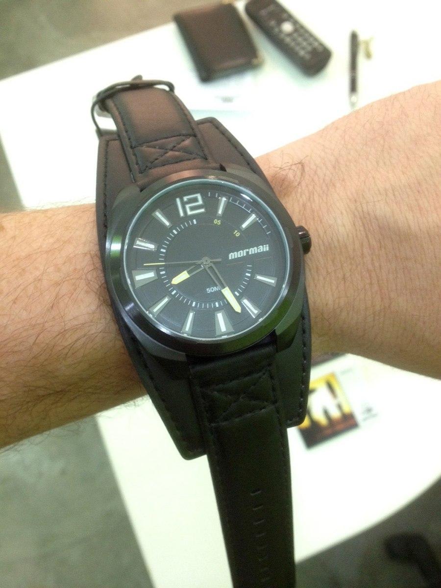 66835a4b5ef Relógio Masculino Mormaii On The Road Mo1972023p - Preto - R  360