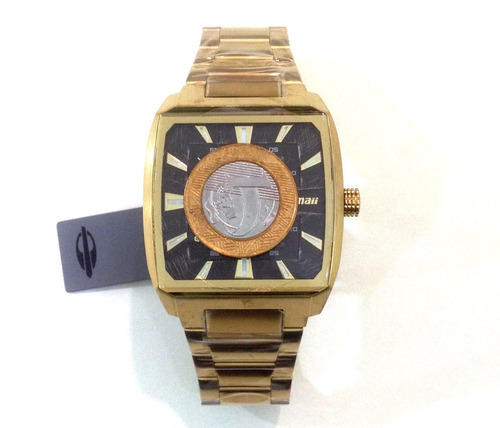 23668af613a01 Relógio Masculino Mormaii On The Road Mo2315am 3p Dourado - R  449 ...