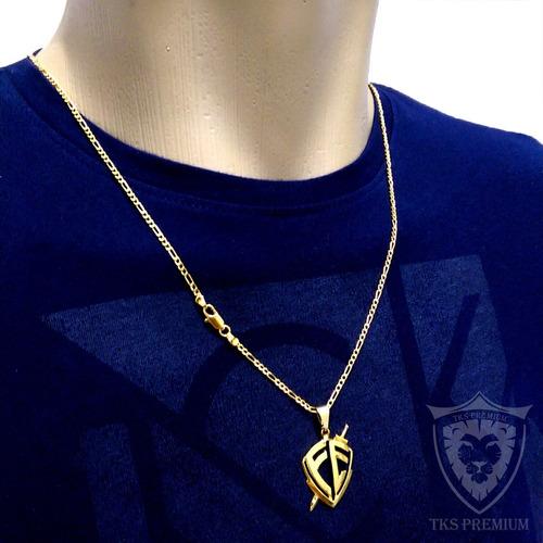 masculino ouro corrente