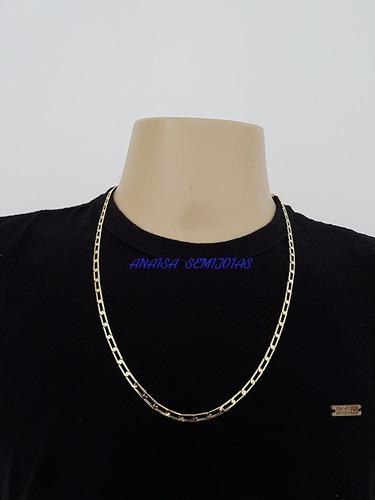 masculino ouro corrente colar