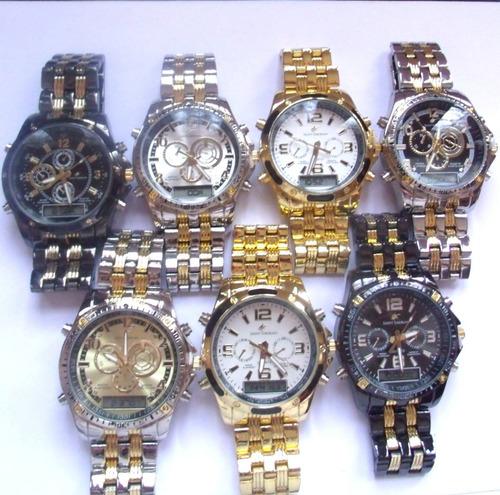 masculino potenzia relógio