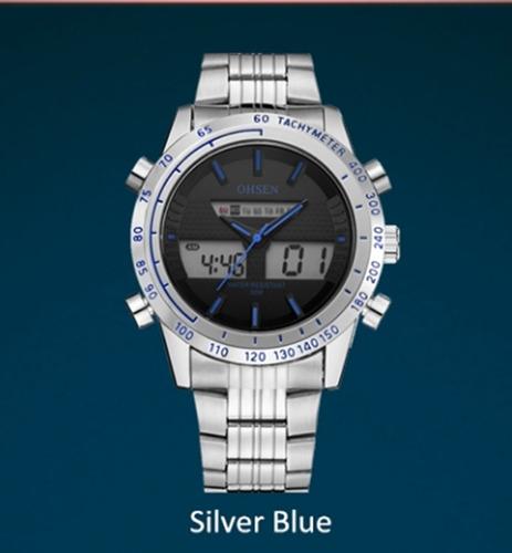 95fd630222b Relógio Masculino De Pulso Ohsen Ad1701 Quartzo Barato - R  109