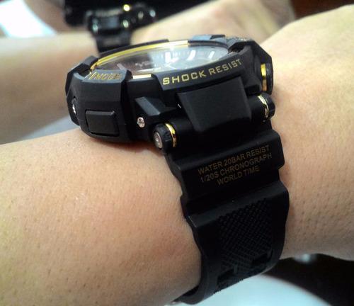 a08539e3606 Relógio Shock Masculino Pulso Z Sport 490 Digital Analogico - R  79 ...
