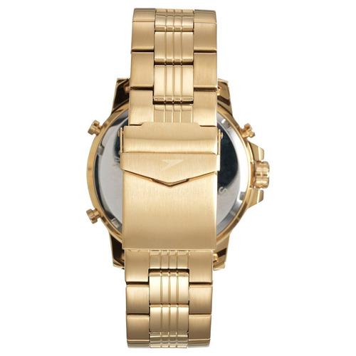 6c1d8484bf9 Relógio Masculino Speedo 24857gpevde1 Analdigi Dourado - R  259