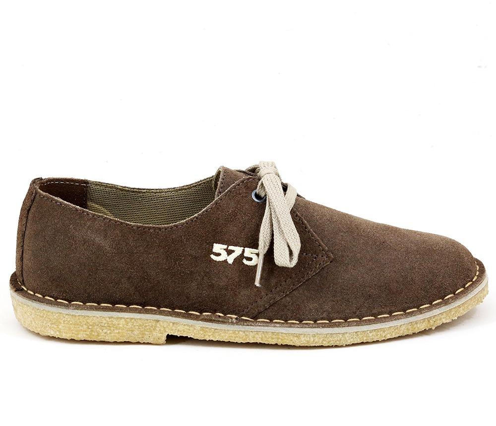 22b290783c5 Carregando zoom... sapato masculino tênis camurça cor cafe tipo 775 crepe