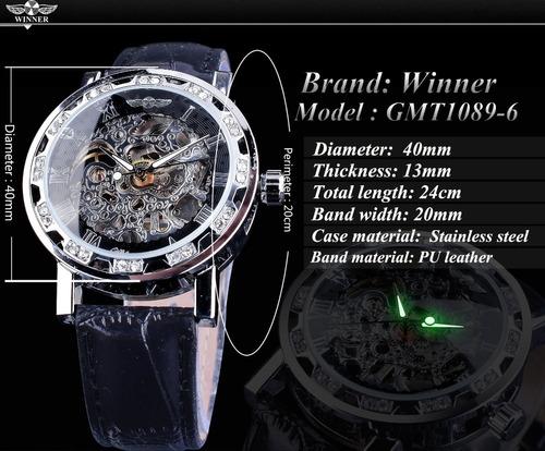 masculino winner relógio