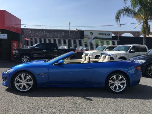 maserati granturismo cabrio 2014 azul