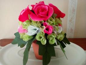 Arreglo Floral Seco Plantas Artificiales Nuevo En Mercado