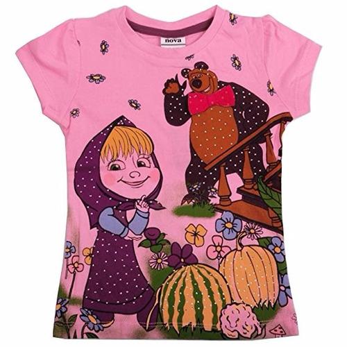 masha y el oso cartoon bear kids brand children clothing
