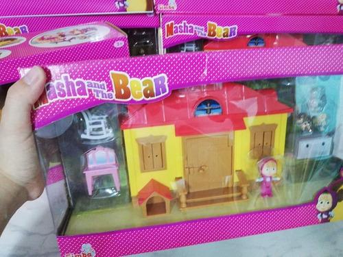 masha y el oso casa de masha  juguete masha y el oso