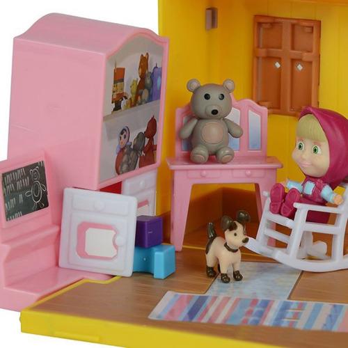 masha y el oso casa de masha original marca simba nuevo