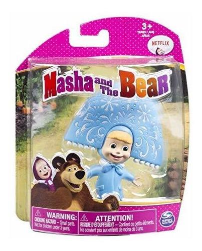 masha y el oso  doncella de nieve masha