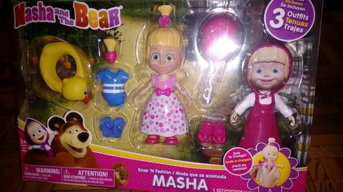 masha y el oso original de spin máster