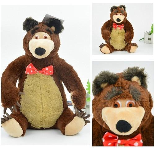 masha y el oso peluche oso grande 37cm