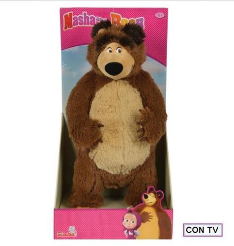 masha y el oso peluche oso grande original simba tapimovil