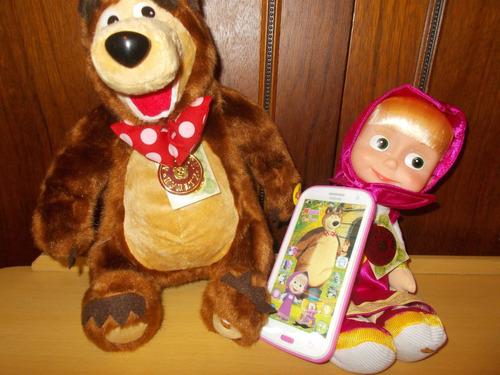masha y oso masha  marca rusa multi-pulti canta habla