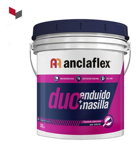 masilla anclaflex duo masilla + enduído 2 en 1 balde x 32 kg
